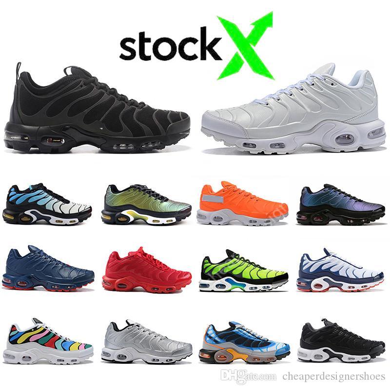 Offre spéciale juste Tn Plus SE chaussures de course Ultra triple Noir Blanc og Hyper Bleu Volt Tigre Femmes En Plein Air Hommes Formateurs Sport sneakers