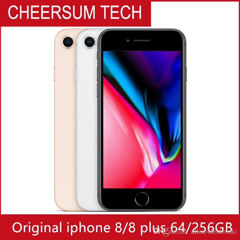 """Original Apple iPhone 8 Plus Hexa Core iOS 3GB RAM 64GB/256GB ROM 5.5"""" 12MP 1080P 4G LTE 8P 8Plus Mobile Phone"""