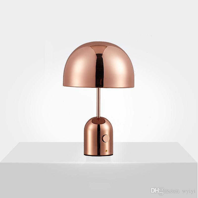 테이블 램프 성격 패션 단순한 거실 연구 침실 침실 옆 버섯 램프 AC 90-260V 포스트 모던 크리 에이 티브 아트