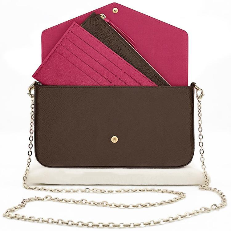 محفظة طويلة مصمم متعدد الألوان عملة محفظة حامل بطاقة مع مربع الأصلي المرأة الكلاسيكية سستة محافظ M2022