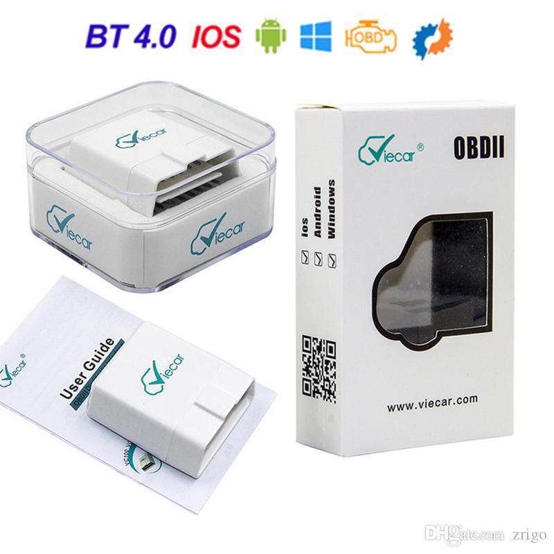 Viecar ELM327 V1.5 Bluetooth 4.0 For Android/IOS/PC OBD OBD2 Diagnostic Scanner tool elm 327 v1.5 OBDII Code Reader Scanner