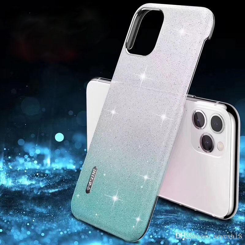 iphone XR XS Huawei P30 Mate30 yanlısı telefon kapağı kabuk için iPhone 11 pro vaka Yıldız kristal Bling Gradyan Arka Kapak Lüks Telefon Kılıfı