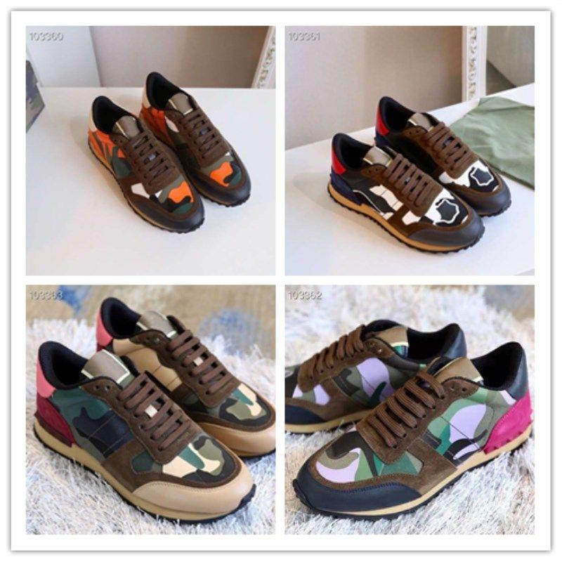 Camouflage-Serie erforderlich Camouflage-Schuhe Original Handwerksspleiß-Stoff Top Freizeit-Outdoor-Turnschuhe für Damen und Herren