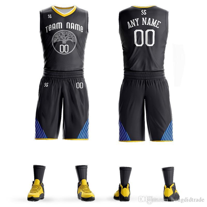 Customized Team Mens Kids Basketball Back Pack Shirts Breathable Jerseys Polyester Uniform Logo Design On Line