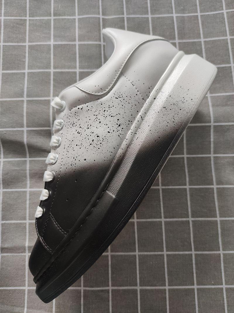 De nouvelles chaussures pour hommes de luxe pas cher concepteur lacée impression confortable belles filles chaussures casual chaussures de sport des hommes et des femmes