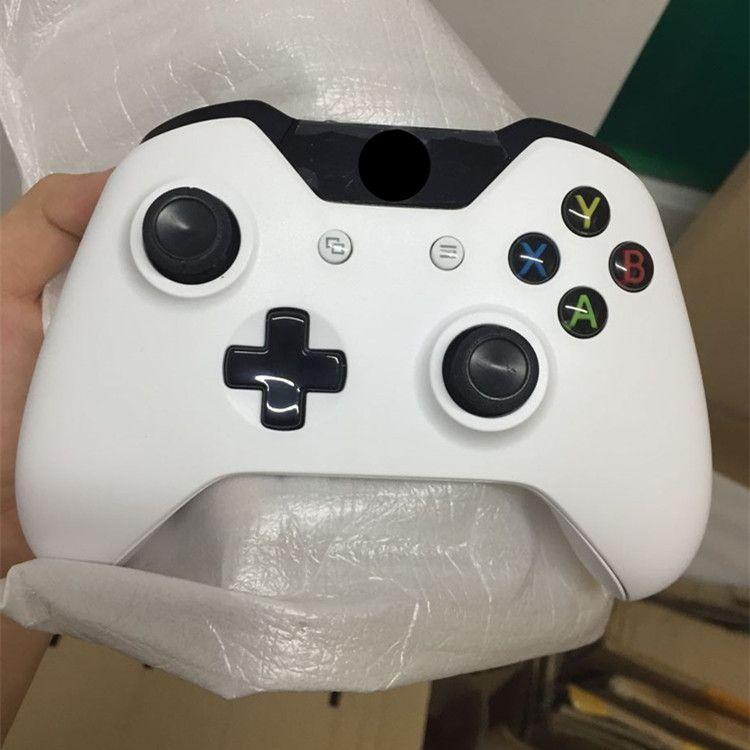جديد أبيض بلوتوث تحكم ل xbox واحد المزدوج الاهتزاز عصا التحكم اللاسلكية gamepad لمايكروسوفت اكس بوكس واحد شحن مجاني