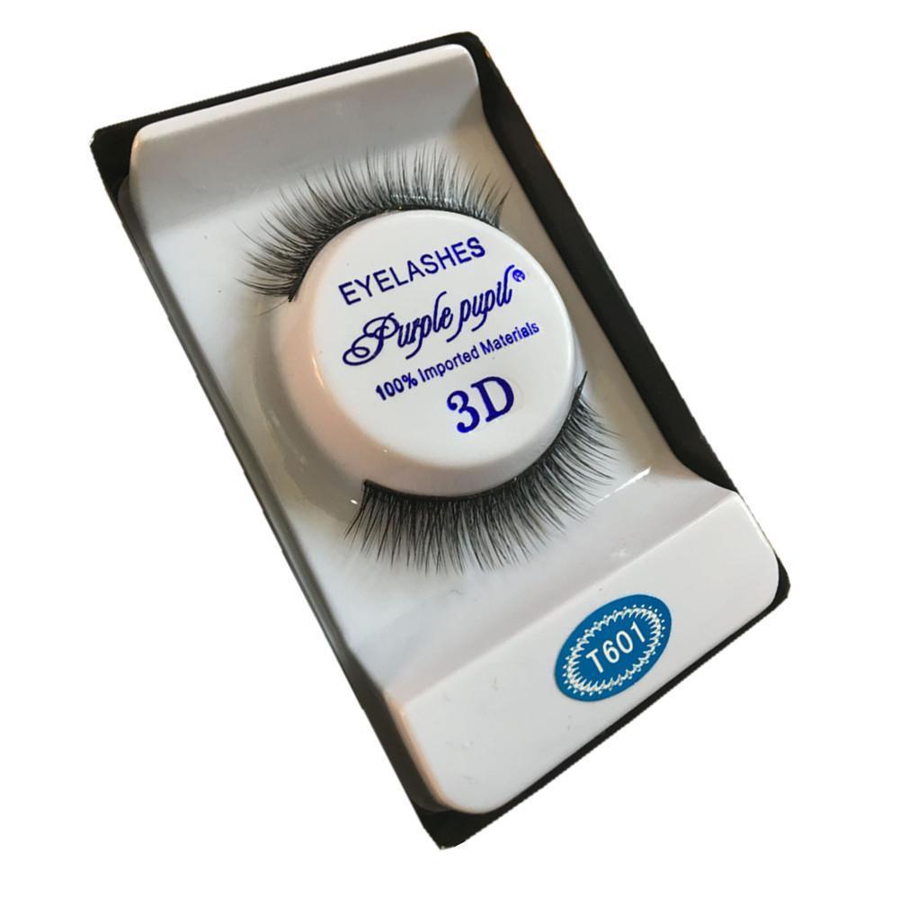 1 Pair False Eyelashes Natural Makeup 3d Mink Lashes Long Fake Eyelashes Eyelash Extension Strip Eye