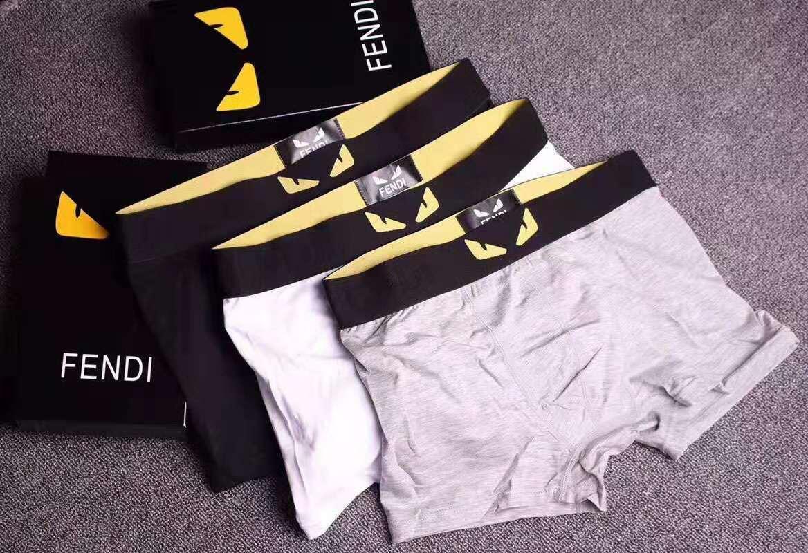 Moda Mens Cuecas Boxers marca com letras Grades Imprimir apliques Arrefecer Mens respirável Underwear 4 Cor disponível