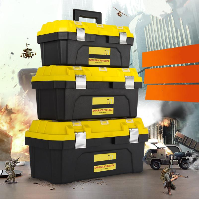 Des outils pratiques et durables Box plusieurs - outils de réparation de boîte à outils d'accessoires de matériel de boîte à outils à main fonctionnelle