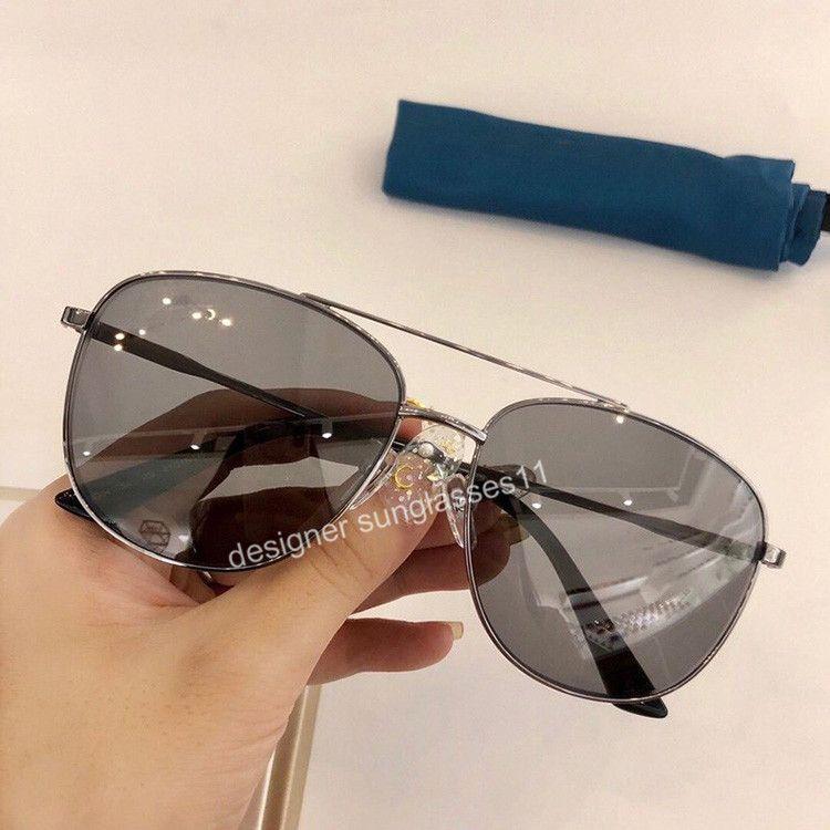 Top Qualité 2020 cool Ultralight Conjoined des femmes des hommes Lunettes de soleil mode populaires Lunettes de soleil rectangulaires 100% Protection UV avec la boîte