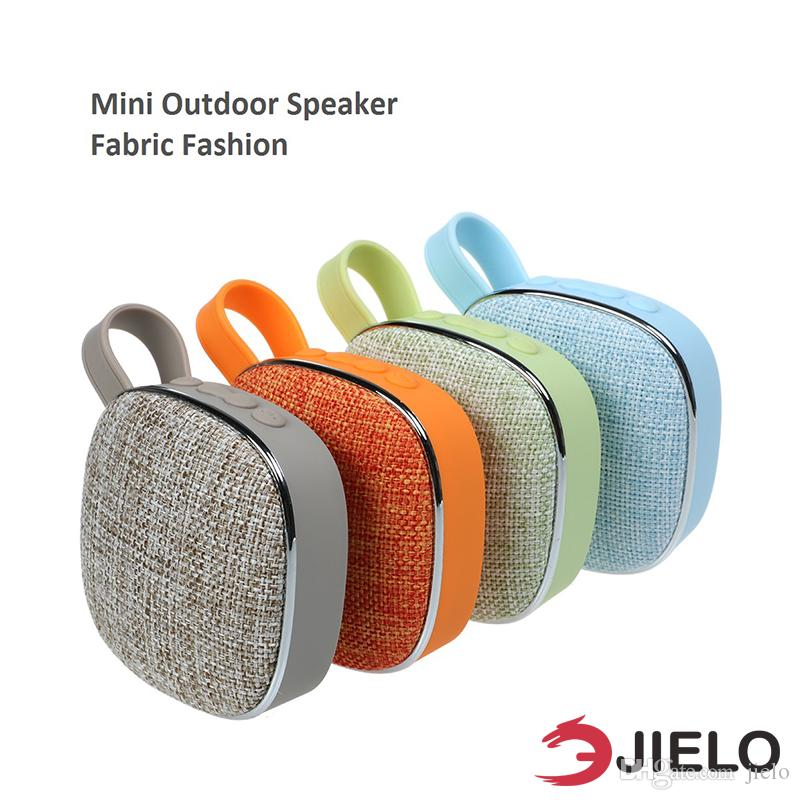 Cloth Portable Bluetooth Speaker Outdoor Bicycle Fabric cloth Mini Portable Boombox Wireless Stereo Surround Music Player Tf Card for Phone