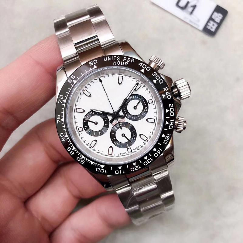 2020 neue Art und Weise Mens-Uhr-Top M116519 Simple Gold Gesicht 316L Edelstahl 2813 automatische Maschine passt freies Shiping