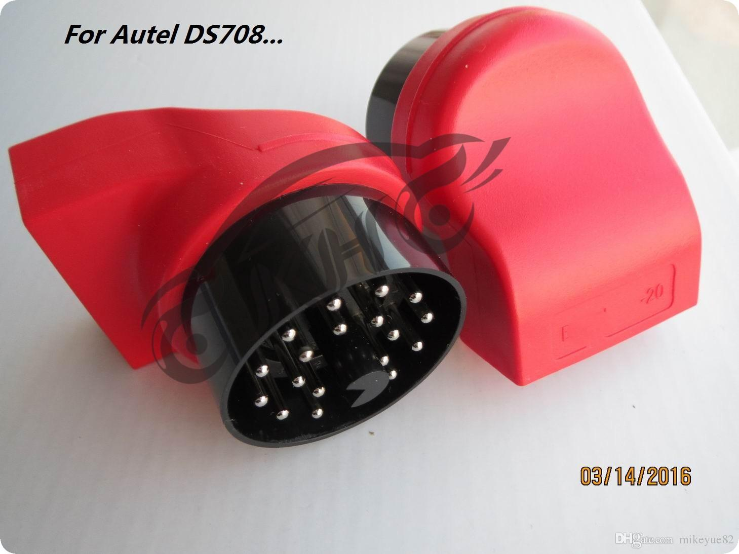 For BMW for Autel -20 Adapter Connector 20 Pin to OBD OBD2 for Autel MaxiDAS DS708 Scanner