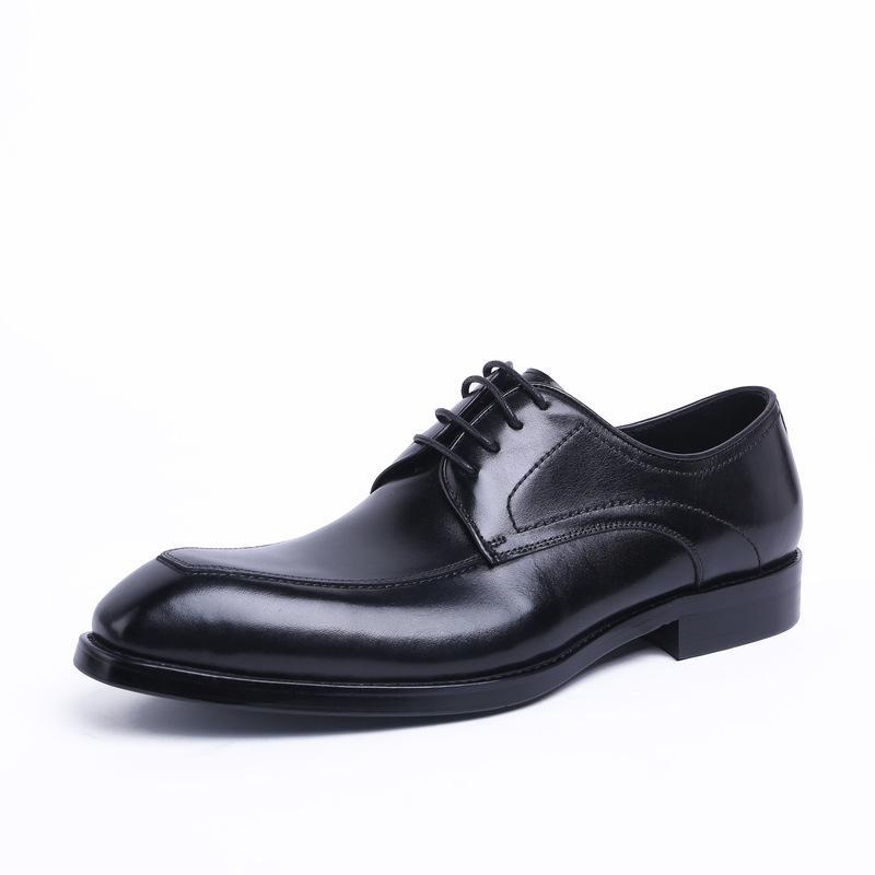 أسلوب رجل الأعمال أحذية اللباس الدانتيل متابعة أوكسفورد ساحة رئيس الخير العام أحذية جلدية لينة ملابس الزفاف