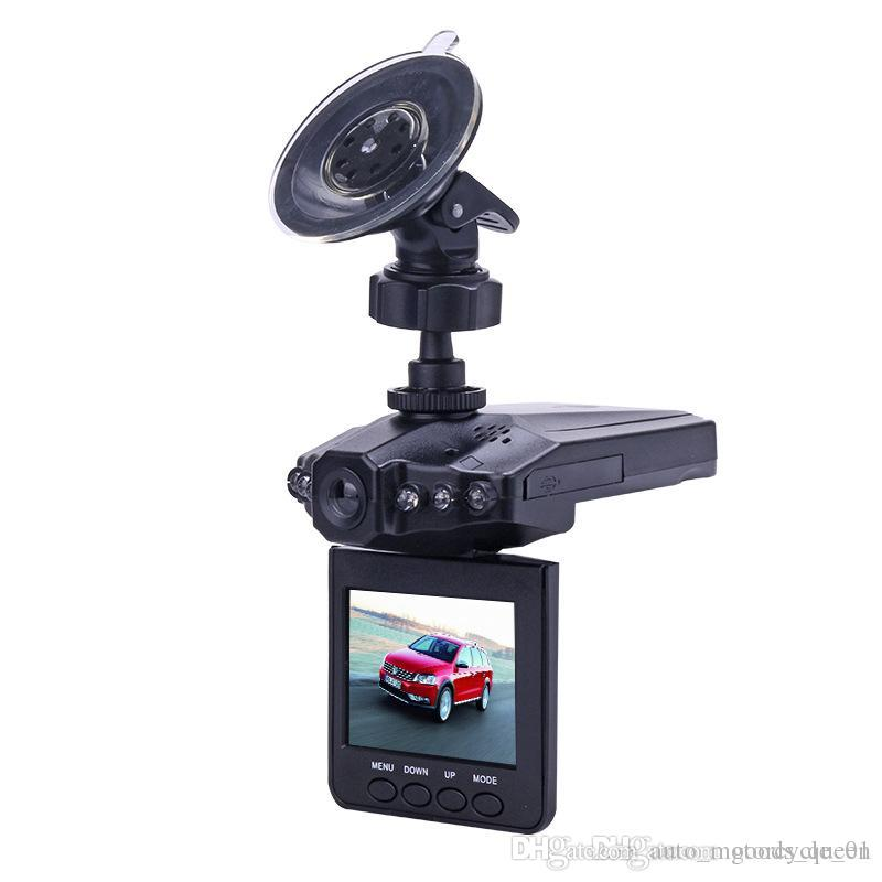 HD Car dvr Camera Recorder 6 LED Road Dash Video Camcorder LCD 270 Degree Wide Angle Motion Detection High Quality Free Shipping 002