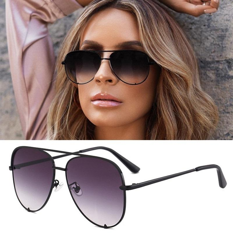 Sexy Lady Vintage Round Metal Sunglasses But Driving Black Retro Mirror Sun Glasses Lady Shade Sunglasses UV400 Glasses De Sol
