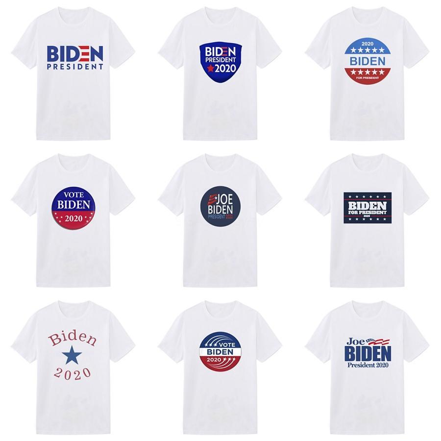 2020 Wholesale Tee Clothing Men'S Biden T-Shirts 3D Painting Hip Hop Clothing Mens Designer Shirts Plus Size Black White #549