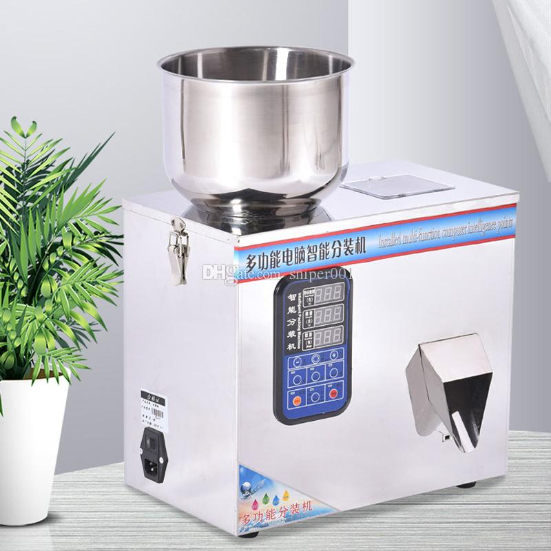 Automatic filling machine for automatic weighing of powder granules coffee tea cat food miscellaneous grain packing machine