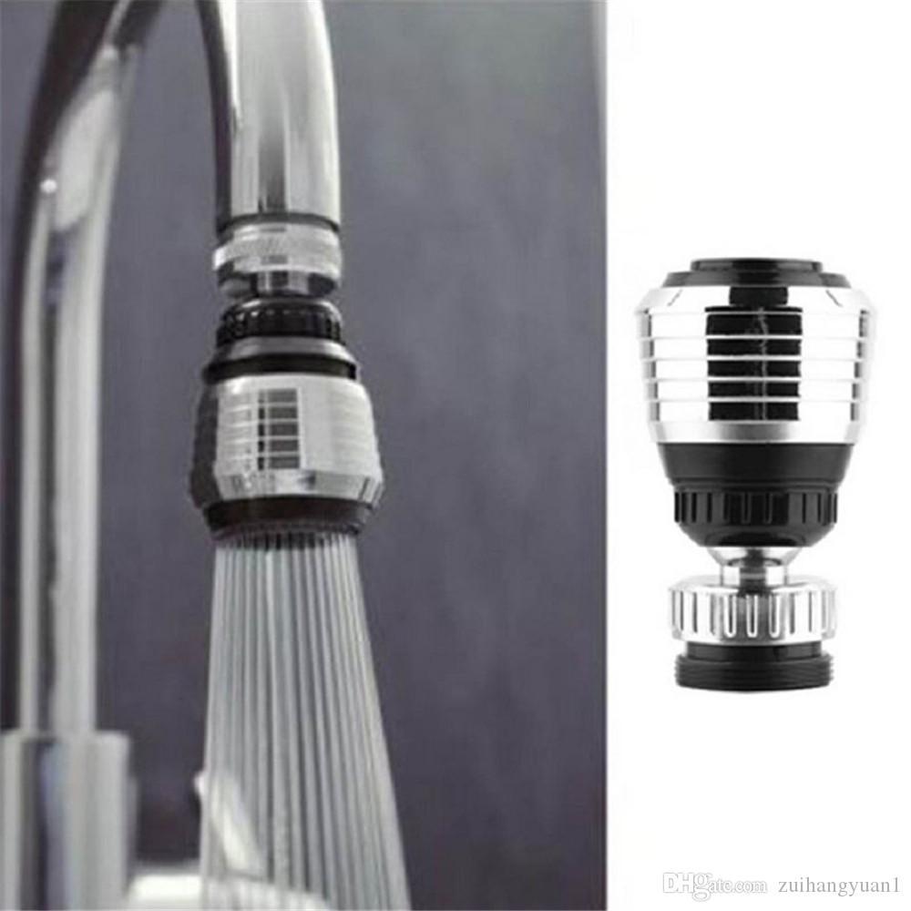 Al por mayor y al por menor 360 girar grifo boquilla Torneira filtro de agua adaptador purificador de agua ahorro grifo aireador difusor accesorios de cocina