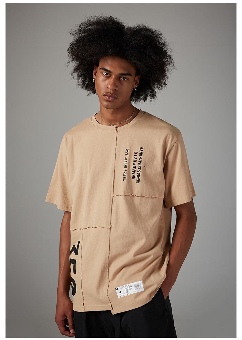 2020 mens womens t shirts summer i feel like pablo Tee short Sleeve O-neck T Shirt Kanye West Letter Print tees male shirt hip hop clotea13#
