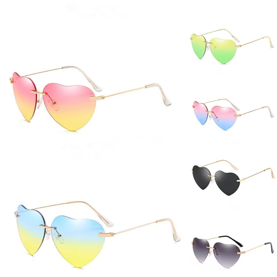 Designer Heart-Shaped Sunglasee Motorcycle Riding Glasses Wind Resistant Padded Comfortable Jetski Windproof #13515