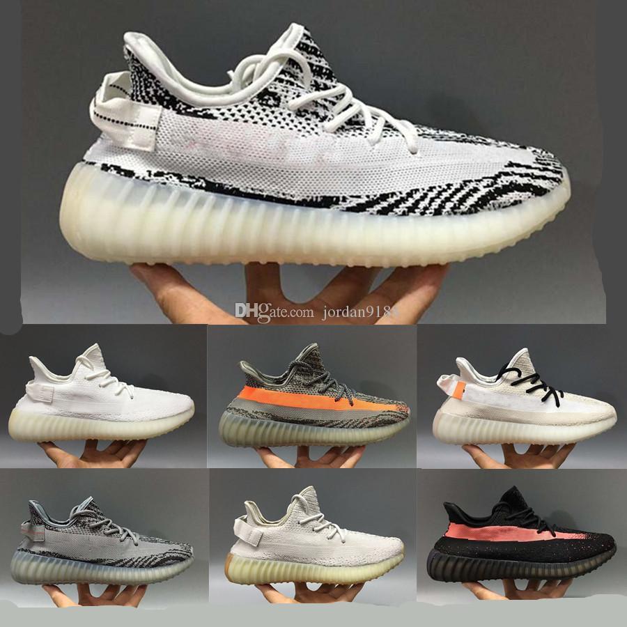 2019 Static Burro Kanye West Uomini Donne V2 scarpe da corsa Allenamento Sneakers Scarpe casual eur 36-48