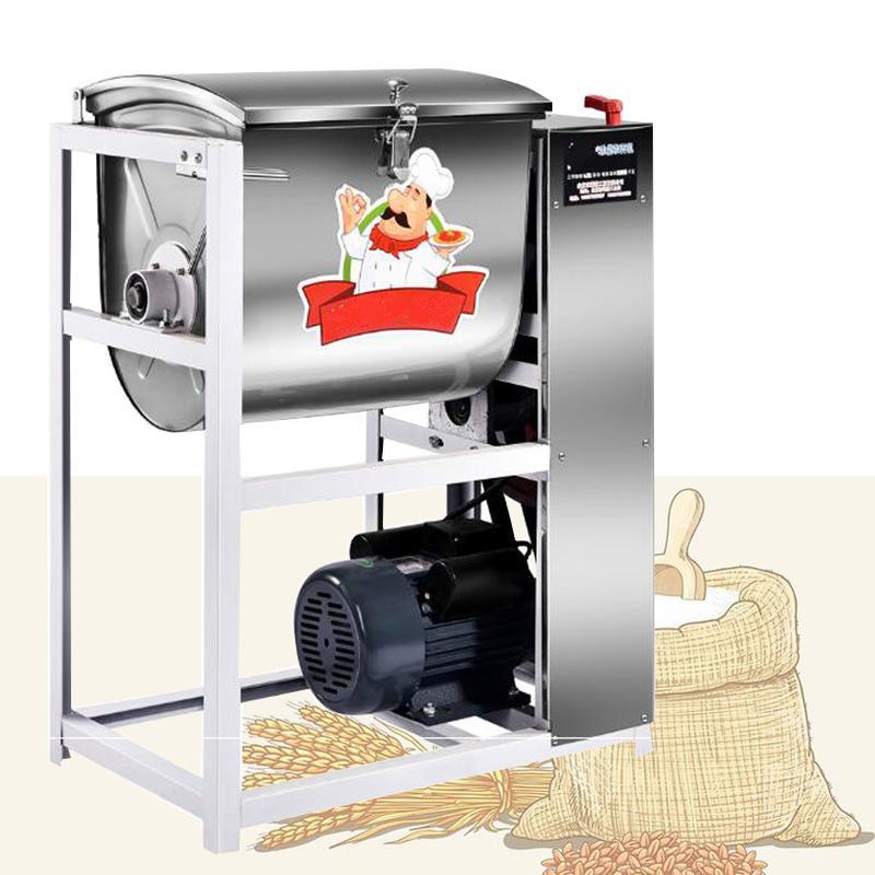 5kg 15kg 25kg pasta mixer macchina per il negozio di pizza negozio di torte di pasta panini in acciaio inox impasto frullatore