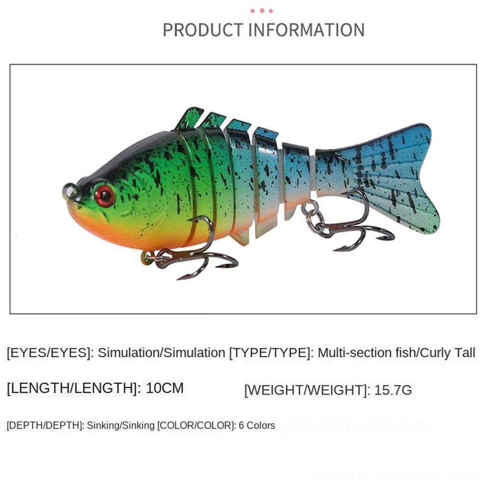 cxVL1 новых жировых поддельные приманки рок-15г Луя Mini белый-рот бас приманки 4,5 см жесткий рыбалка приманки