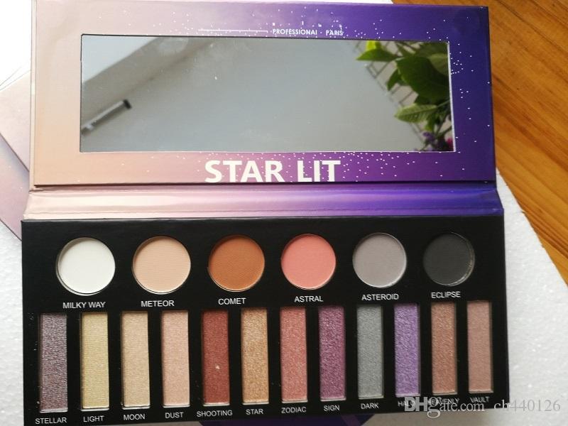 Makeup For Ever Galaxy Eye Estrela Lit paleta de olho Glitter Palette Light-Catcher sombras Paleta 6x0.9g / 12x1g Cosmetics