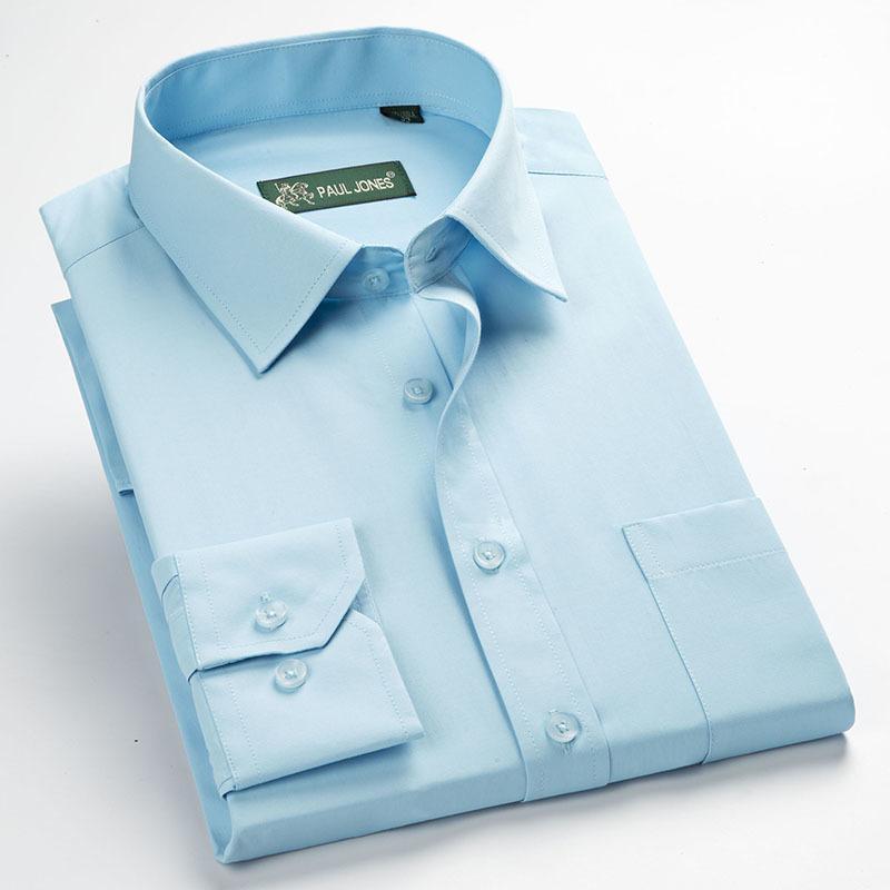 High Quality Men Shirts Twill Business Men's Shirts Long Sleeve Turndown Collar Plus Size 5xl Dress Shirt Work Shirts