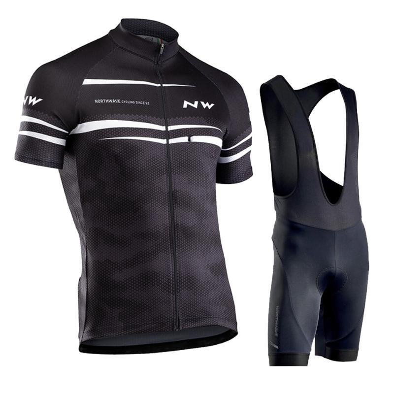 2020 NW été Cyclisme Vêtements VTT Vélo maillot Ropa Ciclista Hombre Racing Vêtements de vélos Cyclisme Set