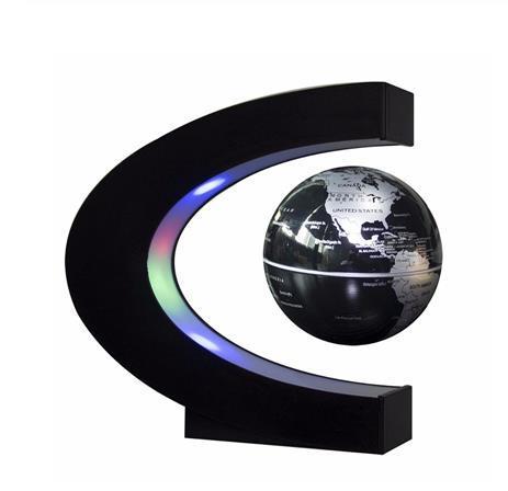 Levitazione magnetica Globo Globe Night Light Floating World Mappa Palla Lampada a sfera Cool Lighting Office Decorazione Della Casa Terrestre Globo Lampada