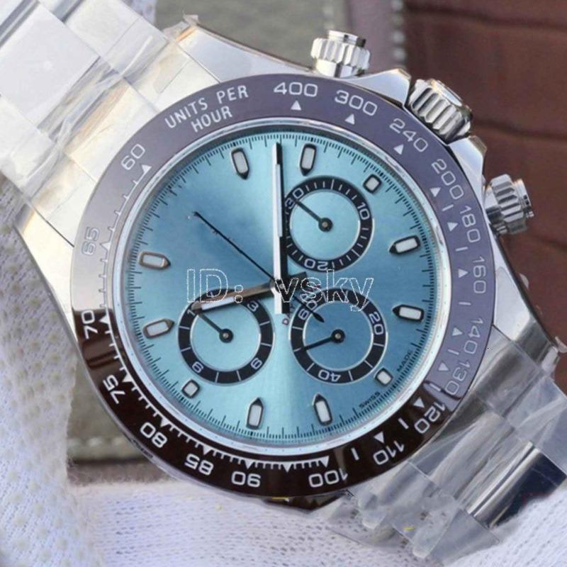 Hot Luxus Herrenuhren Keramik 2813 Automatik-Uhrwerk Armband Mens-mechanische Edelstahl-Mann-Uhr-Designer Uhren Armbanduhren