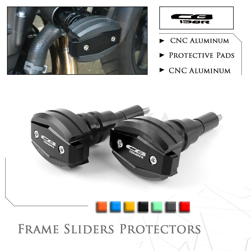 Marco de la motocicleta Sliders Crash Pads Protector Para CBR1000RR 12-16