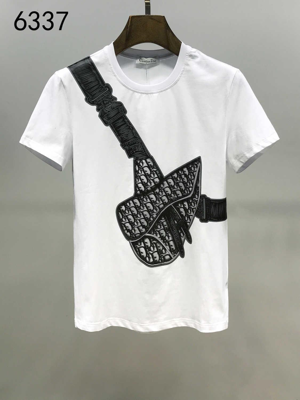2020 Летняя Нового шаблон рубашка Моды Tide Люди с коротким рукавом для мужчин износа футболки футболки печати Самца Свободного времени мужской 11284
