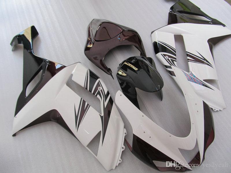 Motorfiets Fairing Body Kit voor Kawasaki Ninja ZX6R 07 08 ZX-6R-carrosserie ZX 6R 636 2007 2008 Valerijen Set + Geschenken