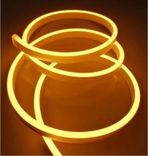 Tubo de alta calidad libre de silicona pegamento Led Neon, con tapas y clips y conectores Dc12v DC24V 3 años de garantía