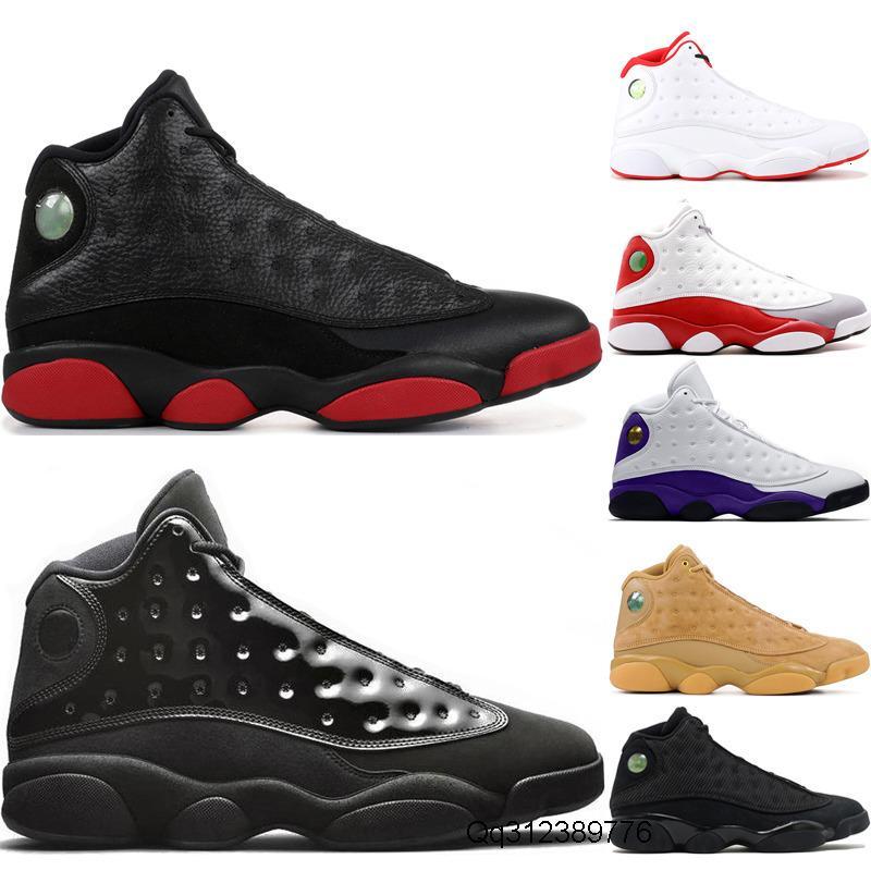 13 erkek Kirli Bred basketbol ayakkabıları 13s Cap ve 2002 He Got Adı Of Elbise Gri Burun Melo Sınıf erkek eğitmen ayakkabı Bred