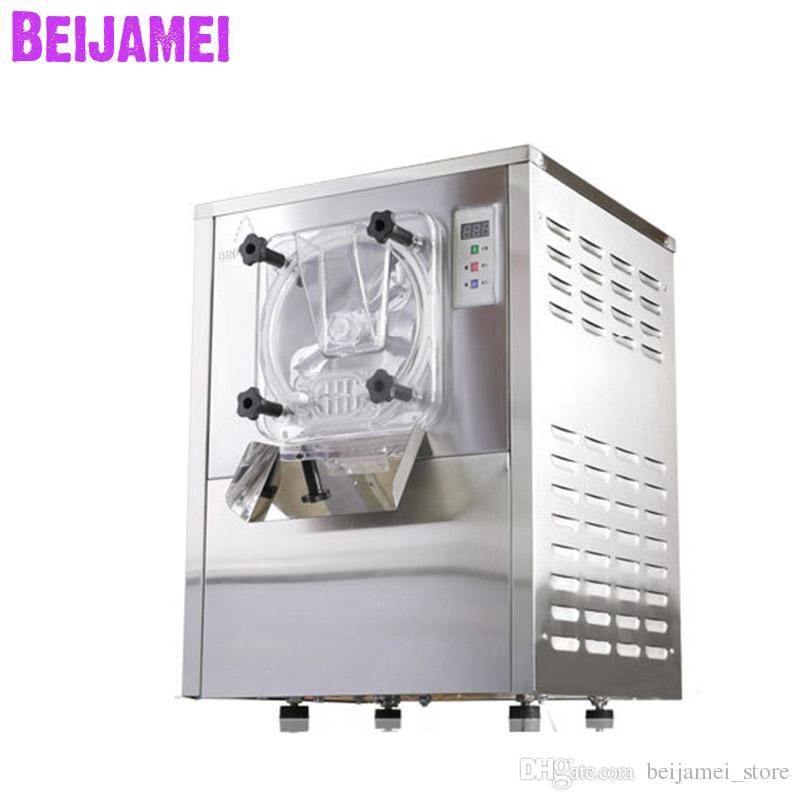 BEIJAMEI 2019 machine à crème glacée dure 20L / H fabricant commercial de crème glacée 1400W acier inoxydable bouilloire électrique yogourt 220 V