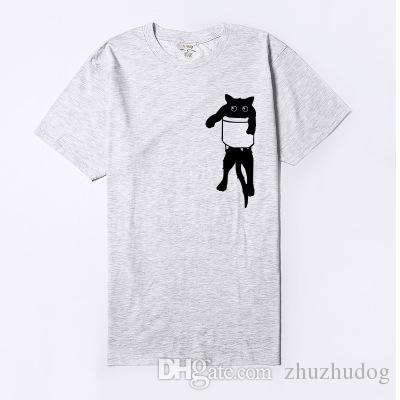 T-shirt da uomo a maniche corte a maniche corte in 100% cotone t-shirt a maniche lunghe da uomo in vendita
