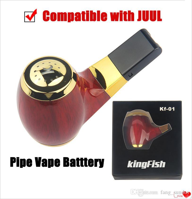 E الأنابيب VAPE وزارة الدفاع التدخين KF 01 المحمولة مبخر 900 ماه USB Passtrough البطارية متوافق مع القرون جول اشتراكاتك مربع للبيع بالتجزئة