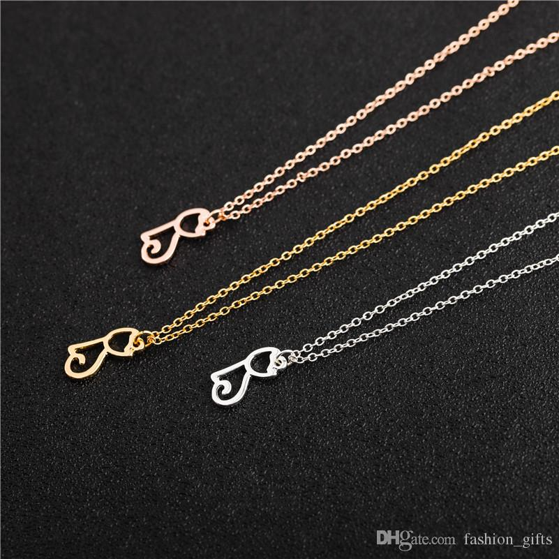 Fashion Women Cute Kitty Cat Chain Pendant Necklace Silver Gold Charm Jewelry
