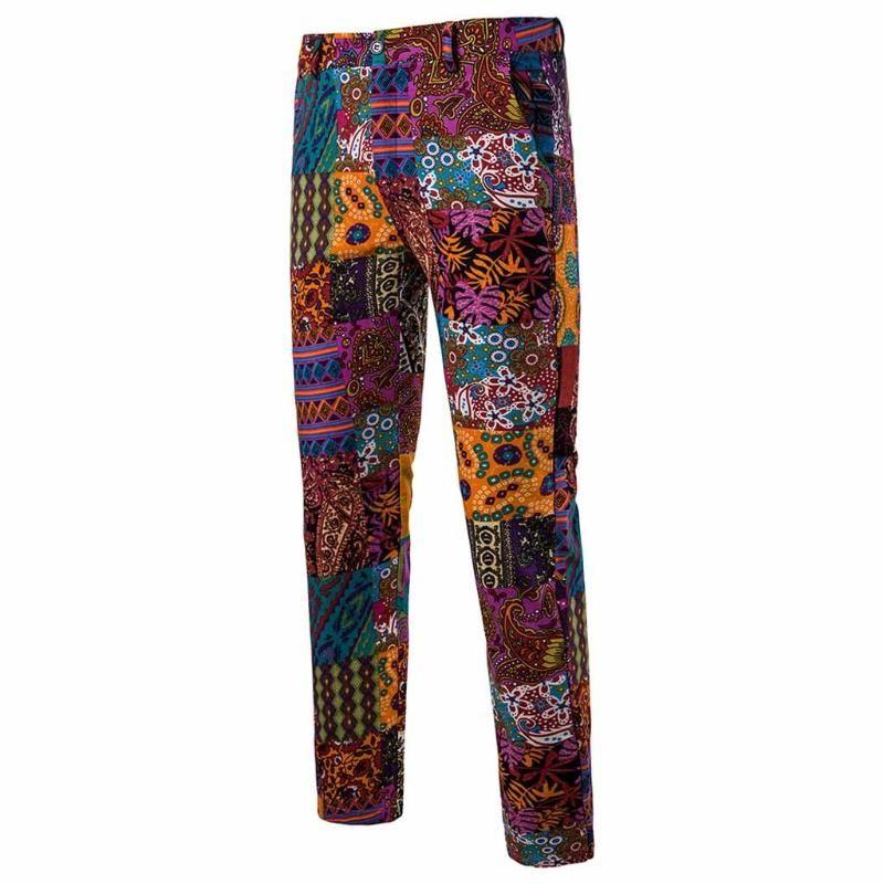 Мужские брюки прямые тонкие винтажные этнические цилиндры стиля бизнес брюки длинные панталон Hombre 2021