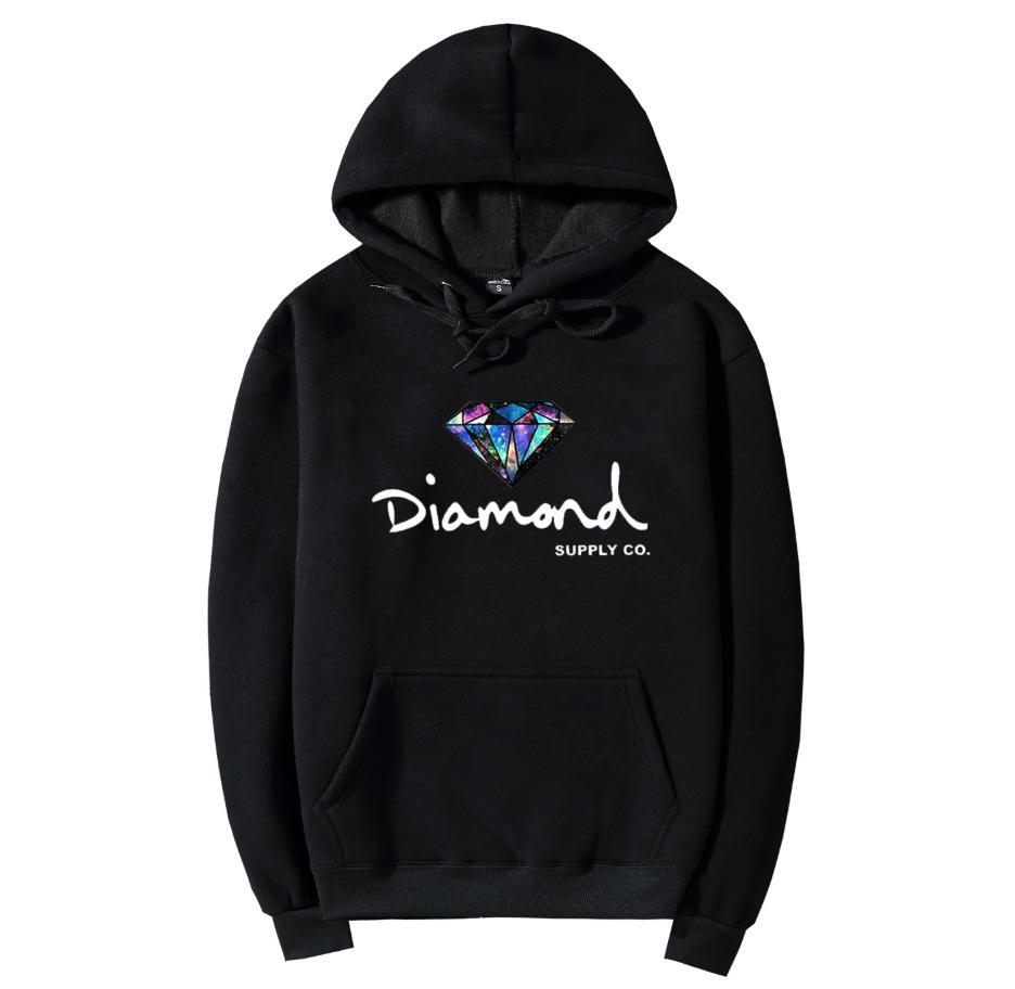 Алмазный Hoodie Марка Повседневный Толстовка с письмом Печать 2020 Новый A / S Designer Streetwear Стиль толстовки 11 Цвет S-2XL GL1810242