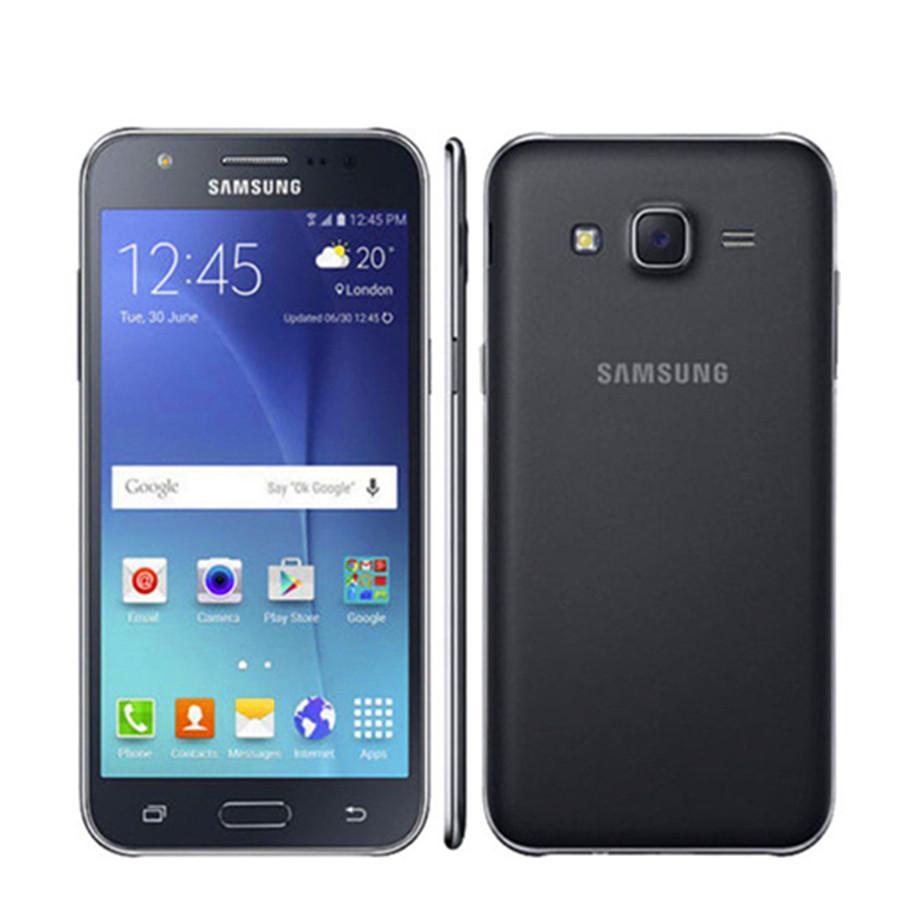 Восстановленные оригинальные разблокированные Samsung Galaxy J5 J500F Quad Core 1.5GB RAM 8GB ROM 13.0MP Dual SIM-карта Bluetooth мобильный телефон