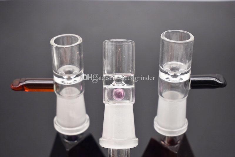 Tabaco De Vidro E Erva Seca Tigela De Vidro Para Bong Fumar Tubos De Vidro 10mm 14mm 18mm Feminino Tigela De Vidro Com Alça