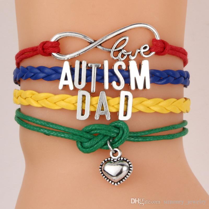 Different not loss Autism suit tie necktie Gift for men-Father/'s day gift for men Autism awareness tie clips bar tack