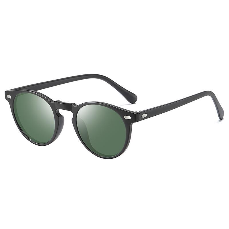 Gözlükler Kadın Polarize Güneş Gözlüğü Güneş Gözlükleri Erkekler Yuvarlak Toptan-Moda Tasarım ve Vintage Sürüş Yuvarlak Açık Fglmm
