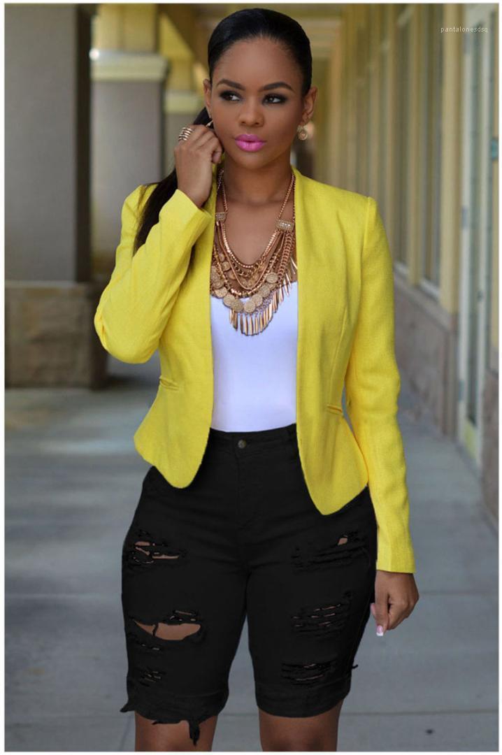 Jeans Street Fashion style femelles Crayon Pantalons d'été Femmes Jeans Skinny Ripped taille haute longueur au genou
