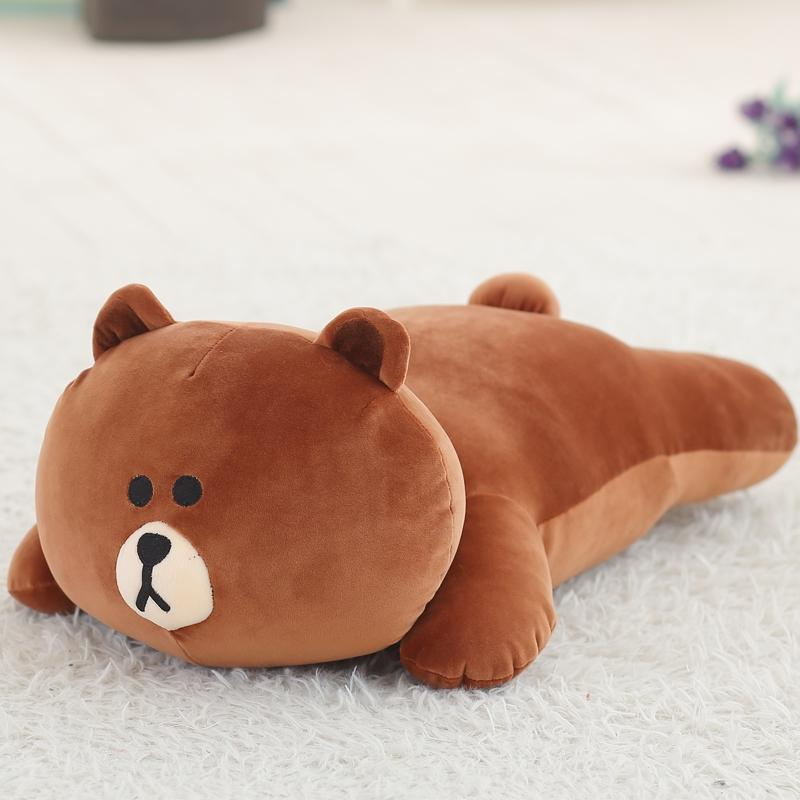 Korea Brown bear cony rabbit Plush Toy Stuffed Soft Plush Toys Cartoon Cute Baby Pillow Sleeping pillow girlfriend gift